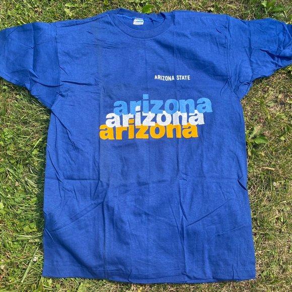 VINTAGE 80'S ARIZONA STATE CHAMPION GRAPHIC TSHIRT